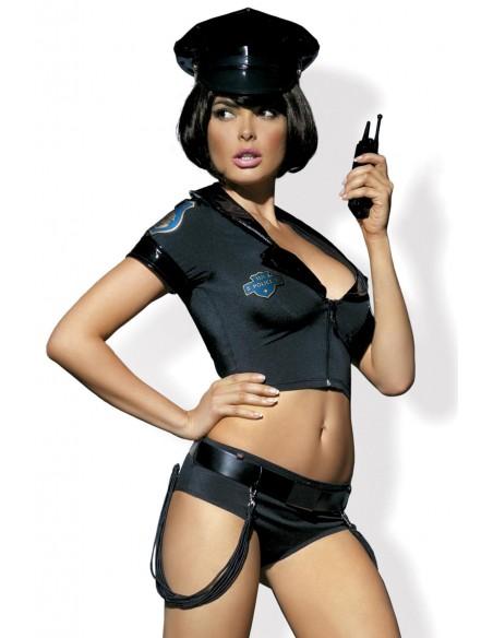 Obsessive kostum Police