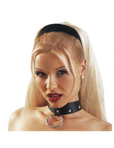Leather collar - Zado
