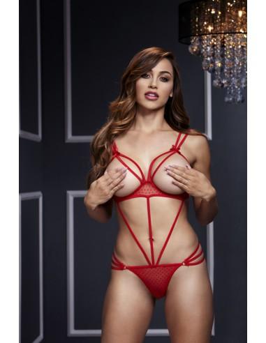 Body Red Strappy S/M/L - Baci
