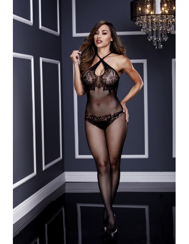 Floral Lace Bodystocking S/M/L - Baci