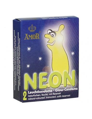 2 Kondoma Amor Neon