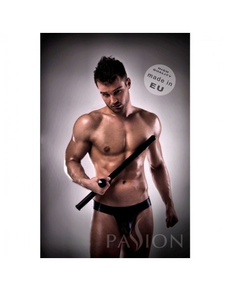 Jockstrap Black leather Passion