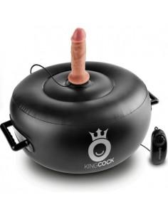Vibracijski stol + 2 dildota King Cock