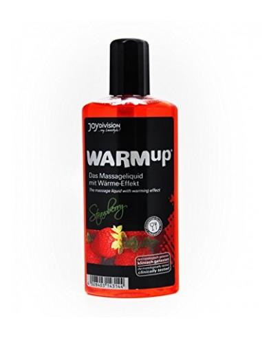 Masažno olje jagoda WARMup - Joydivision