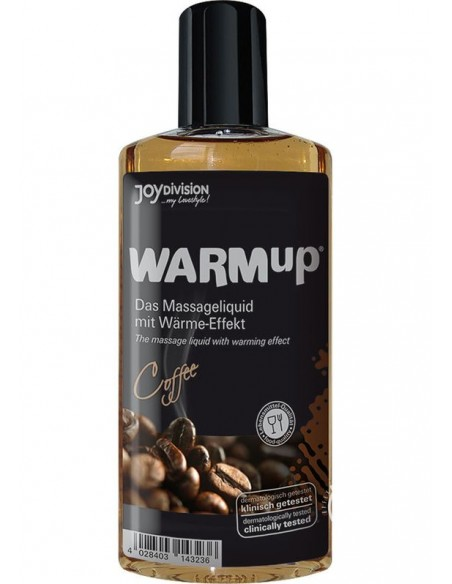 Masažno olje Coffe WARMup - Joydivision