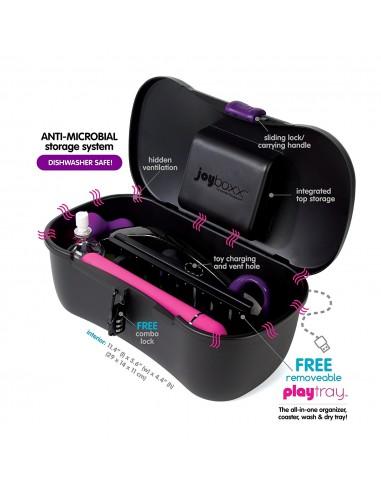 Kovček za diskretno shranjevanje erotičnih igračk Joyboxx - Higienic