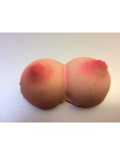 Mini rubber breasts