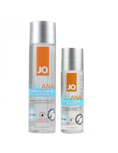 H2O Analni lubrikant Warming - System JO