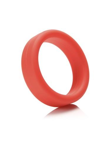 Erekcijski obroček Super Soft C-Ring rdeč - Tantus