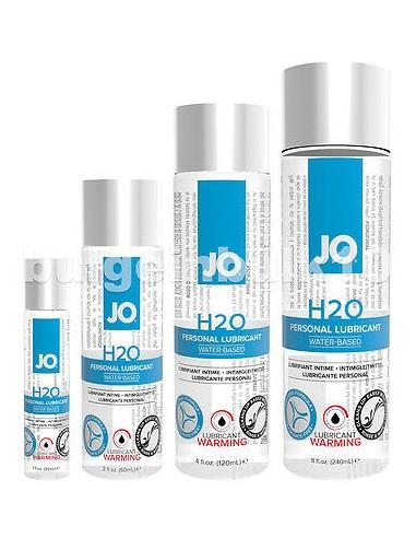 Grelni Lubrikant na vodni osnovi H2O Warming - System JO