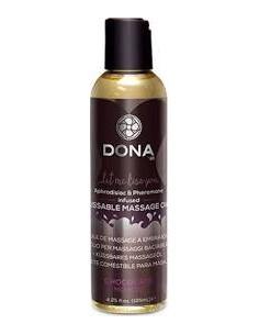 Užitno masažno olje Čokoladni mousse - Dona