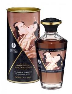 Masažno olje z okusom Čokolade - Shunga Aphrodisiac Intimate kisses