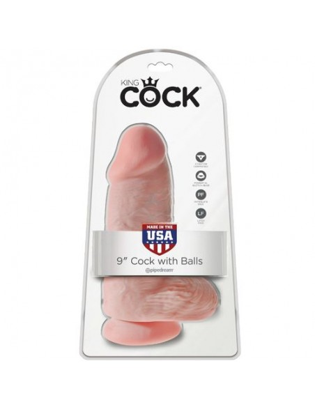 "Dildo Chubby 23 cm 9"" King Cock"