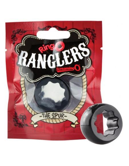 Silikonski erekcijski obroček RingO Rangler Spur