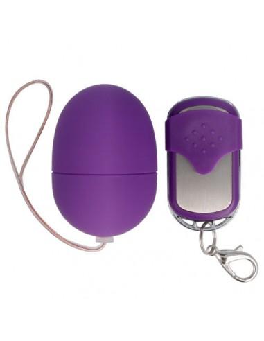 Silikonski Vibracijski jajček Spirit small daljinsko upravljanje