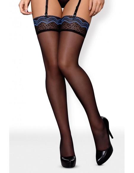 Elegantne nogavice s čipko 844-STO-1-Obsessive