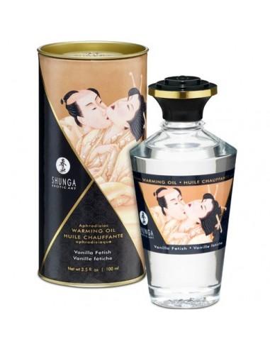 Grelno užitno masažno olje Vanilla fetish Shunga Intimate kisses