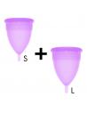 Dve menstrualni skodelici S +  L Stercup