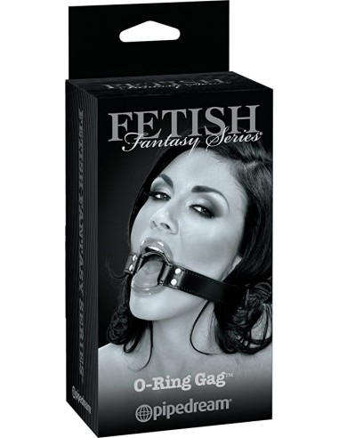 O-ring gag Fetish fantasy