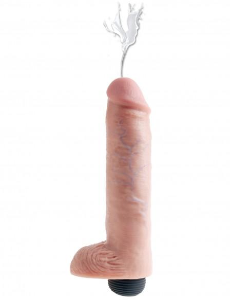 Dildo ki špricne King Cock squirting 20,3 cm