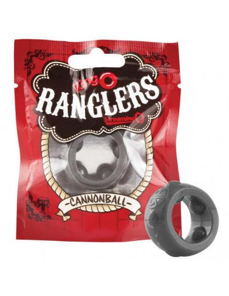 Silikonski erekcijski obroček The RingO Rangler Cannonball