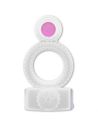 Vibracijski erekcijski obroček Casual ring double transparent