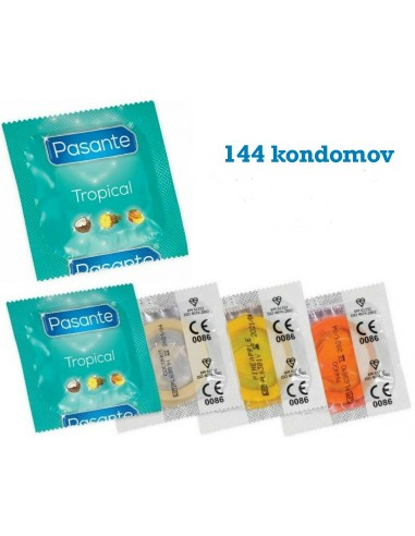 Kondomi Pasante Tropical 144 kom