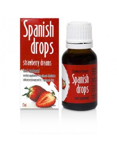 Španska muha z okusom jagode 15 ml Cobeco Pharm