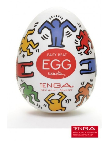 Egg DANCE Keith Haring - Tenga