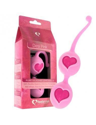 Vaginalne kroglice Desi Pink - Feelz Toys