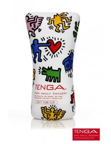 Soft Tube Cup - Keith Haring - Tenga