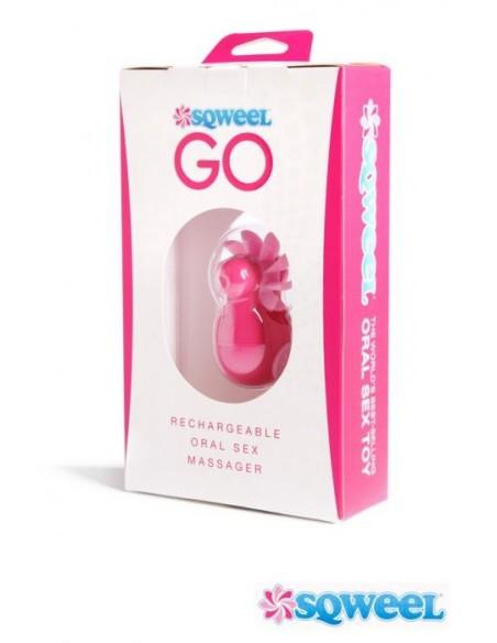 Sqweel GO Stimulator - polnilni