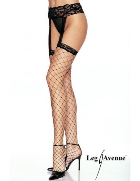 Samostoječe nogavice s pasom Queen - Leg Avenue