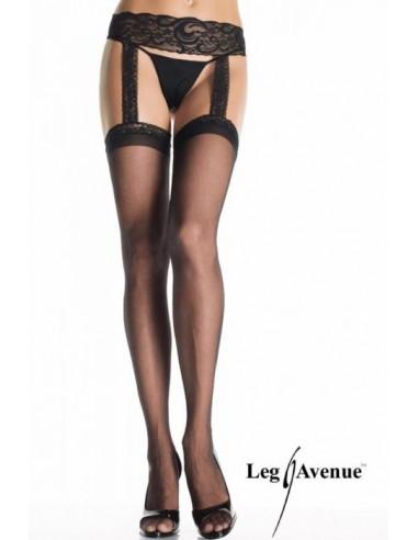 Samostoječe nogavice s pasom - Leg Avenue